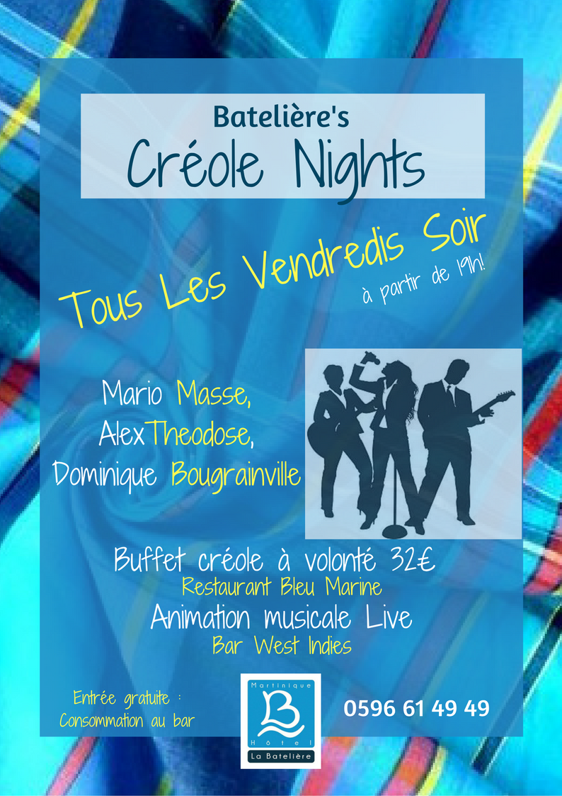 les Créole Nights, Jam Sessions