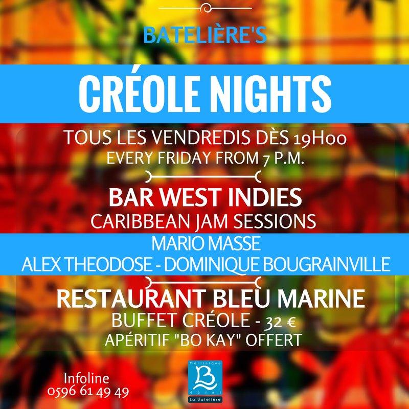 les Créole Nights, Jam Sessions