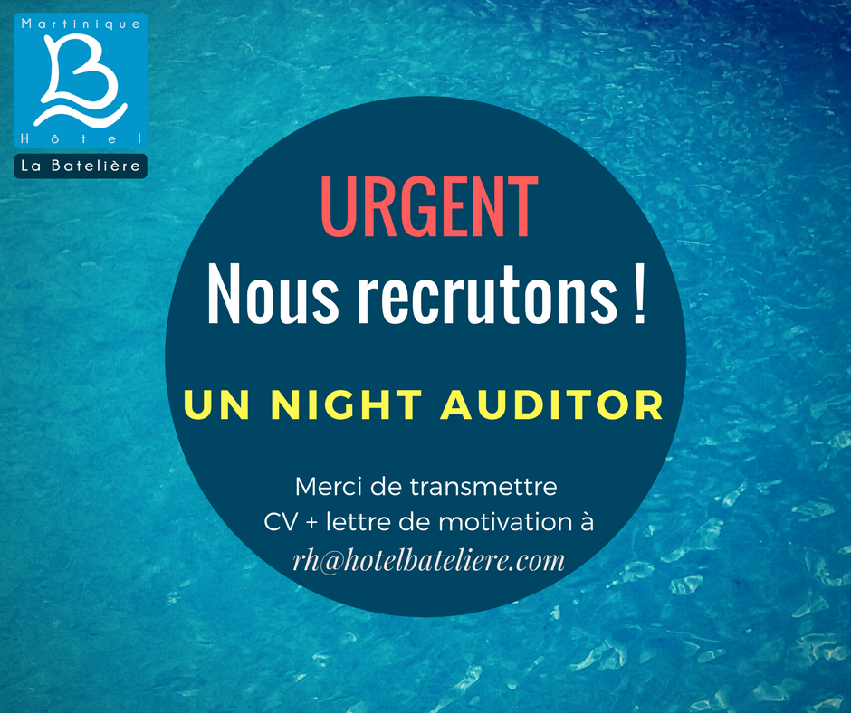 Poste de Night Auditor